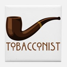 Tobacconist Tile Coaster