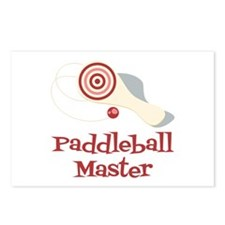 Paddleball Master Postcards (Package of 8)