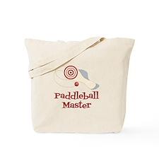 Paddleball Master Tote Bag