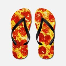 Cute Pizza Flip Flops