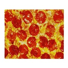 Cute Pizza Throw Blanket