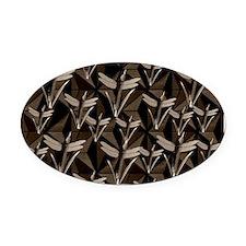 Cute Interior decorator Oval Car Magnet