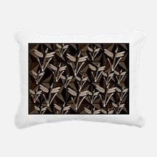 Cute Wisconsin badgers home office decor Rectangular Canvas Pillow