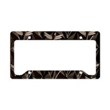 Cute Dragonfly art License Plate Holder