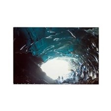 Mendenhall Glacier Ice Cave Rectangle Magnet