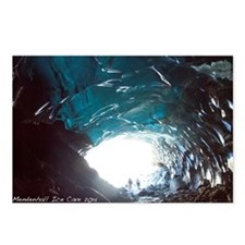 Mendenhall Glacier Ice Ca Postcards (Package of 8)