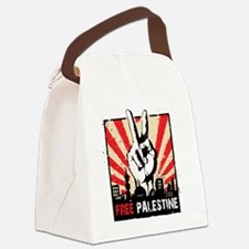 free palestine Canvas Lunch Bag