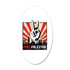 free palestine Oval Car Magnet