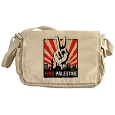 free palestine Messenger Bag