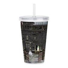 Haunted House 1 Acrylic Double-wall Tumbler