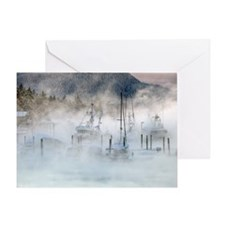 Statter Fog Harbor Greeting Card