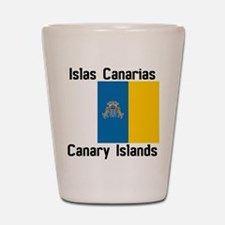 Canary Islands Shot Glass