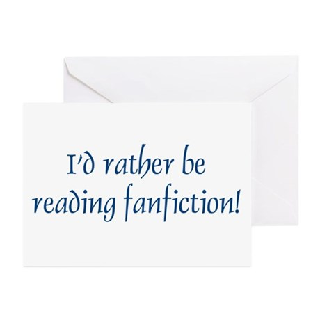 Fanfic Greeting Cards (Pk of 10)