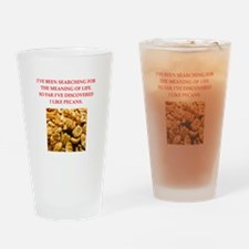 pecans Drinking Glass