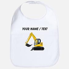 Custom Yellow Excavator Bib