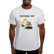 Custom Yellow Excavator T-Shirt