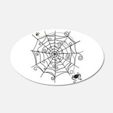 Spider Web Wall Decal