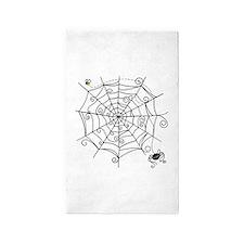 Spider Web 3'x5' Area Rug