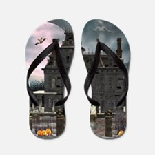Haunted House 1 Flip Flops