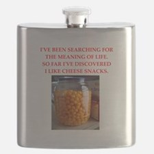 cheese snack Flask