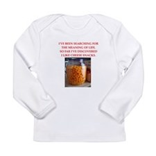 cheese snack Long Sleeve T-Shirt