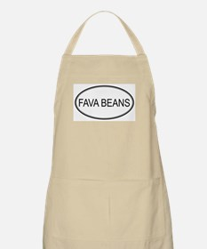 FAVA BEANS (oval) BBQ Apron