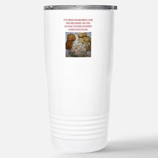 cole slaw Travel Mug