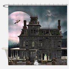 Haunted House 1 Shower Curtain
