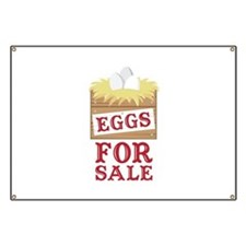 Eggs For Sale Banner