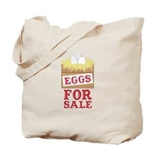Eggs For Sale Tote Bag