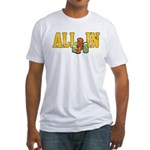 All-In Poker Fitted T-Shirt