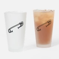 Safety Pin Drinking Glass