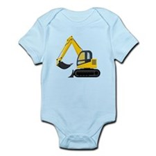 Yellow Excavator Body Suit