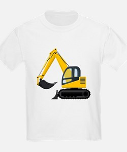 Yellow Excavator T-Shirt