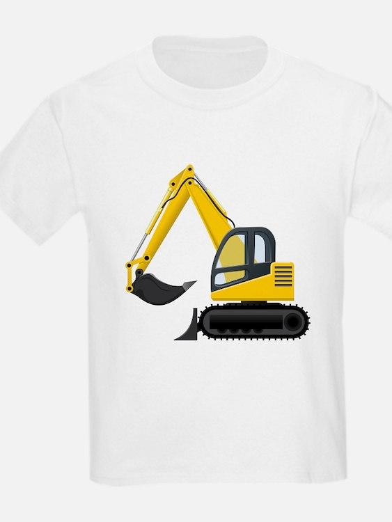 Yellow Excavator T-Shirt