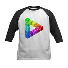 Impossible Dice Triangle Baseball Jersey