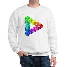 Impossible Dice Triangle Sweatshirt