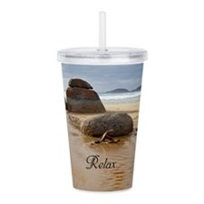 Cute Tranquil Acrylic Double-wall Tumbler