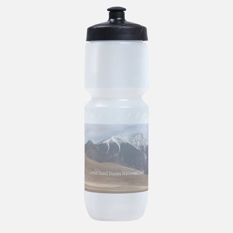 Colorado Great Sand Dunes Photo Souv Sports Bottle