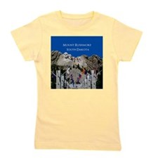 Mount Rushmore Customizable Souvenir Girl's Tee