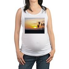 VeniceBeachCaliforniaSunset4 Maternity Tank Top
