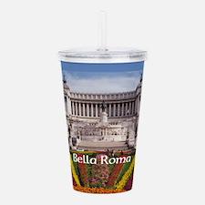 Vittorio Emanuale Roma Acrylic Double-Wall Tumbler