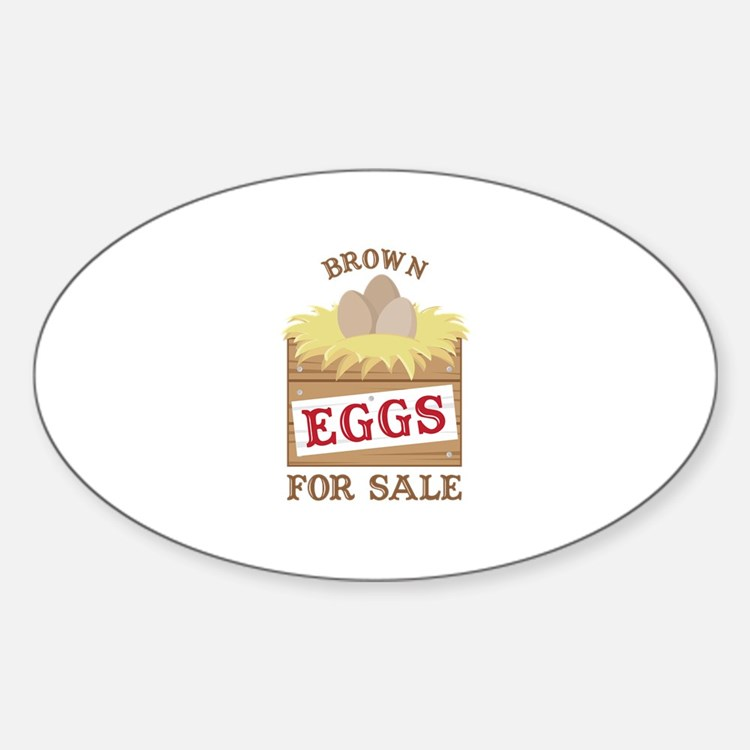 Brown Eggs Decal