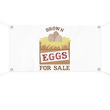 Brown Eggs Banner
