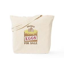 Brown Eggs Tote Bag