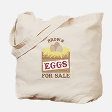 Brown Eggs Tote Bag