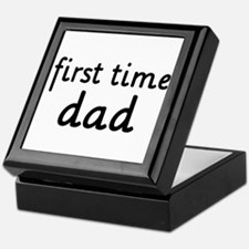 Father's Day First Time Dad Keepsake Box