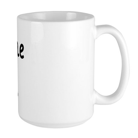 Father's Day First Time Dad Large Mug