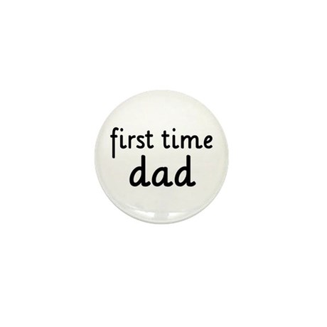 Father's Day First Time Dad Mini Button (100 pack)