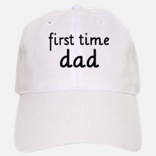 Father's Day First Time Dad Baseball Baseball Cap